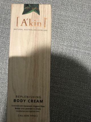 A'kin body cream