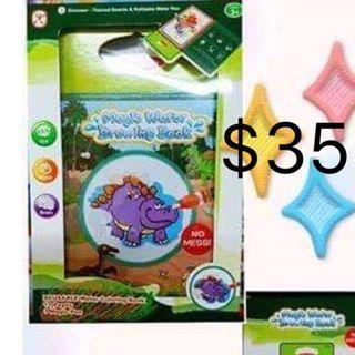幼兒/兒童益智玩具 親子遊戲 清水魔術畫冊 $35