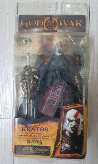 Kratos In Ares Armor Neca God of War 2
