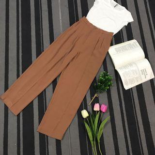Brown long pants