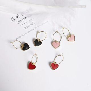 [PO] Mini Heart Hoops