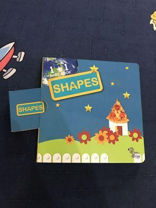 形狀 shape 圖形 幼兒圖書 小童故事書
