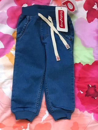 New jeans bottoms age 10 to 14 months
