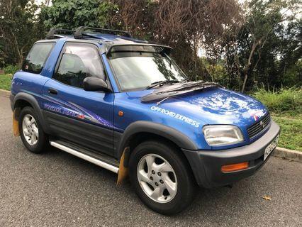出售內籠寬敞TOYOTA RAV4 2.0 2000