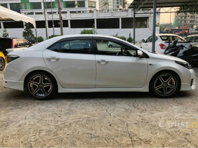 2015 Toyota Corolla Altis 1.8 G (A) One Owner Full Bodykit Leather Seat DVD Reverse Camera