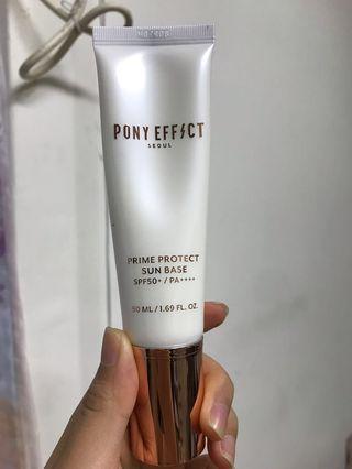 🚚 Pony effect 水透光妝前防護乳