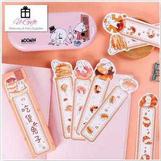 🚚 [BM]Cute Eating Rabbits Bookmarks 30 pcs
