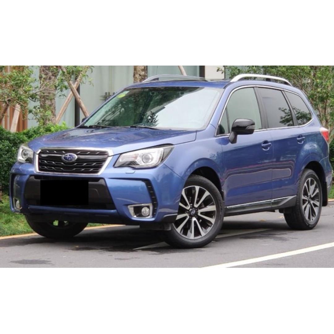 2017 SUBARU FORESTER XT 電尾門 4WD