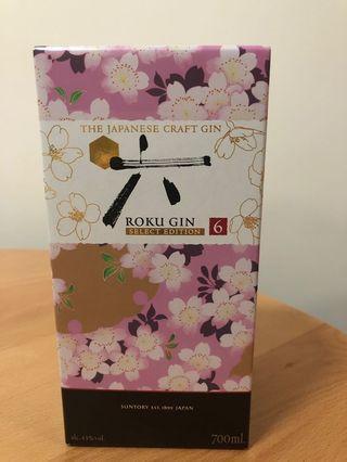 Suntory Roku gin 六 琴酒 (limited edition) 有盒全新