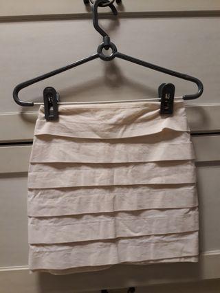 Off White Bandage Skirt