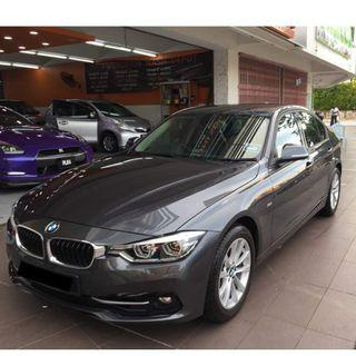 BMW F30 3 series FOR RENTAL!!! STILL AVAILABLE BOOKING !!!
