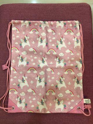 Sass & Belle Drawstring Bag unicorn