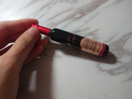 🚚 labiotte紅酒瓶造型唇膏