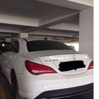 MERC CLA 200 (white) FOR RENTAL!!! STILL AVAILABLE PROMO PRICE!!!