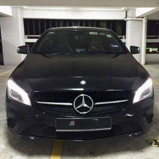 MERC CLA 200 (black) FOR RENTAL!!! STILL AVAILABLE BOOKING PROMO!!!