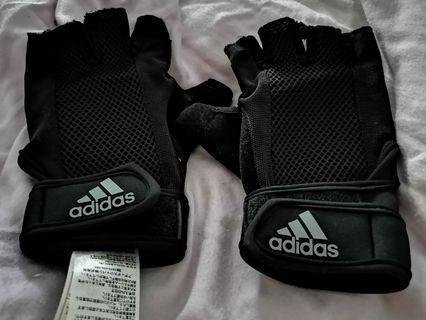 🚚 Addidas Climacool Gym Gloves (L Size)