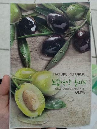 Mask Sheet Nature republic, Mediheal, Oxygen-02