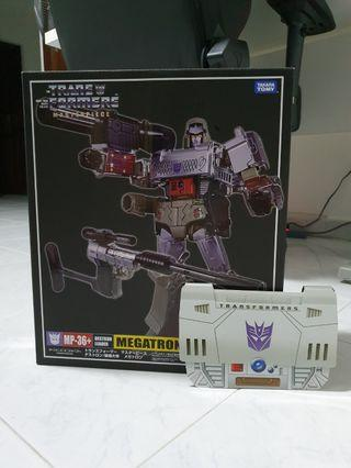 Transformers mp36+ mib with coin