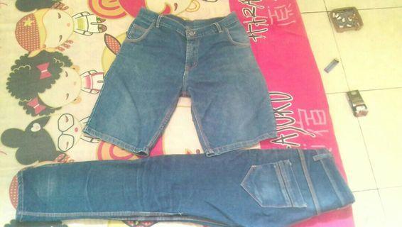 Celana Pendek Dan Panjang