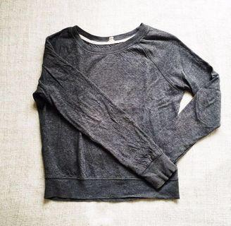 Forever 21 Charcoal Gray Sweater Pullover