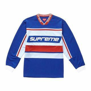 LF: FW18 Supreme Warm Up Hockey Jersey