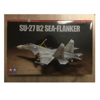 🚚 [LAST BNIB] TAMIYA SU-27 B2 Sea Flanker