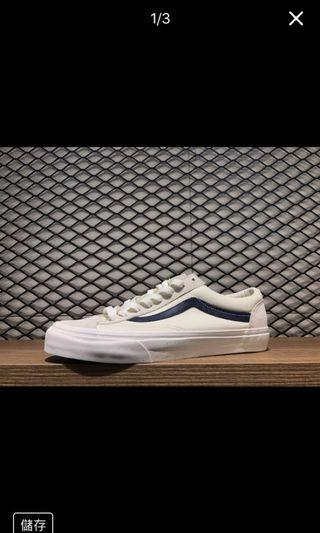 🚚 vans style 36藍線 27cm 全新