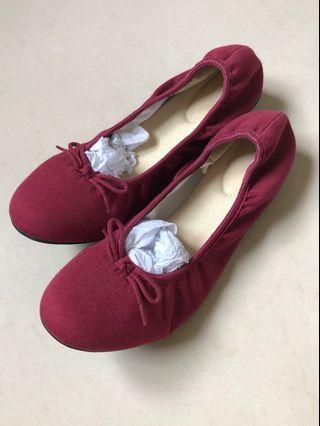 🚚 MUJI 娃娃鞋