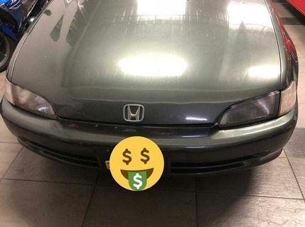 Honda eg8 1.5auto Singapore