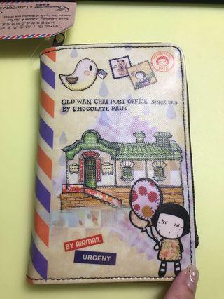 Chocolate Rain x 香港郵政局 記事本套/證件套