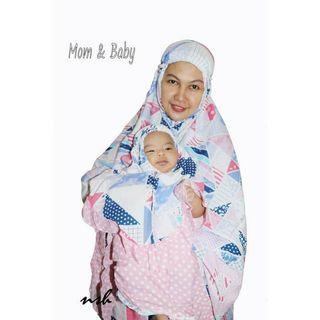 Mukena couple ibu bayi