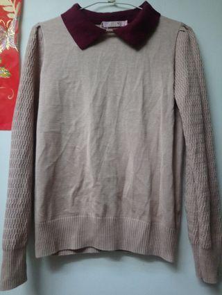 藕粉色衣服