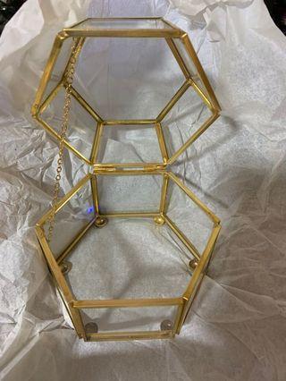 hexagon dessert box