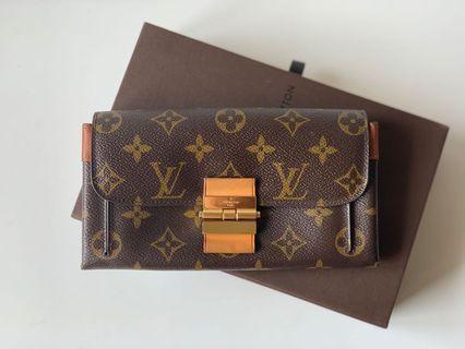 Authentic Louis Vuitton Monogram Limited Long Wallet