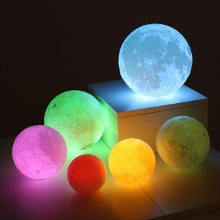 3D Moon Lamp [ 9 Colors ]