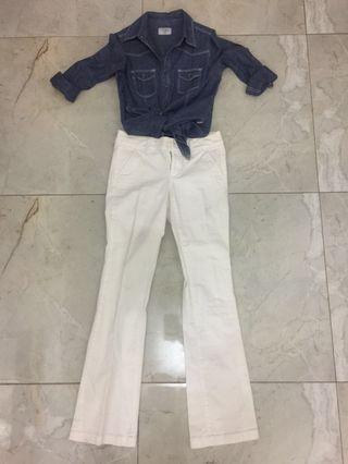 Rodeo Denim Shirt (Kemeja Jeans Merek Rodeo)