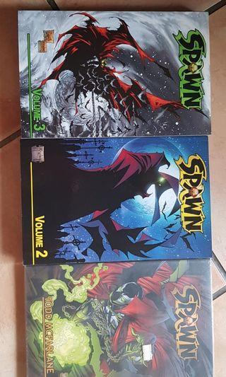 Todd Mcfarlane spawn comic TPB vol 1 to 3