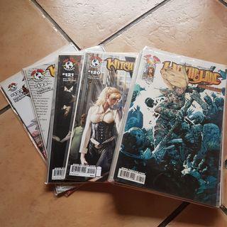 Top cow witchblade comics 107 ,108-123