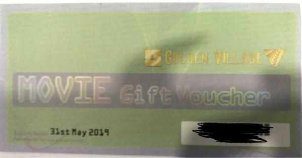 🚚 GV Movie Gift Voucher