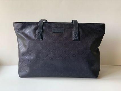Authentic Gucci Imprime Shopper Tote Bag