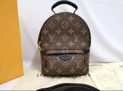 Louis Vuitton Mini Backpack (100% Genuine leather) NEW