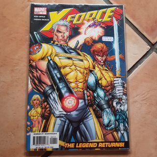 Marvel x-force rod liefeld #1-#6 complete