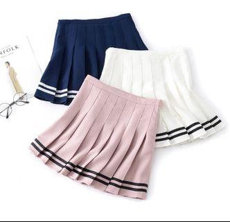 Pleated skirts (assorted colors)