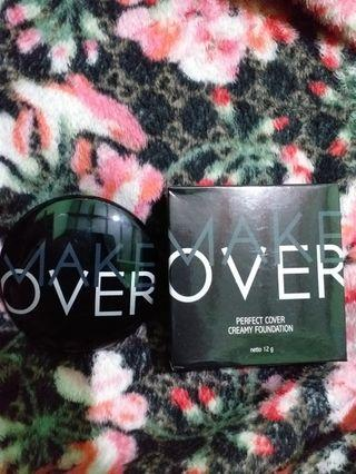 Make over Perfect Cover Foundation #murahmeriah