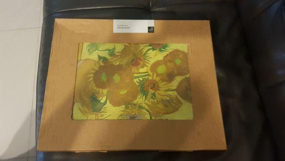Van gogh sunflowers canvas print