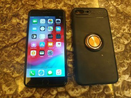 Very Nice Black iPhone 7 Plus 32GB + Case + Charger