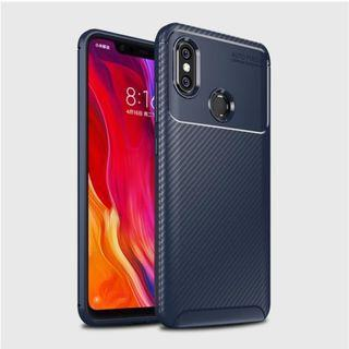 Case Xiaomi Mi 8 Softcase Xiaomi Mi 8 Shockproof Carbon