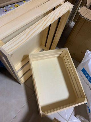 wooden crate (large & xtra large)