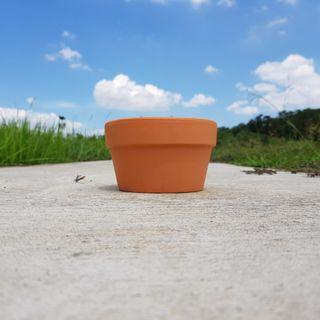 2pcs 15cmx9cm Terracotta Pots