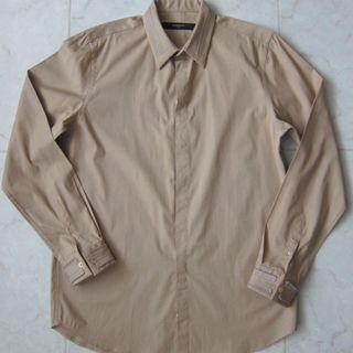 Givenchy Zip Detail Button Up Mens Shirt